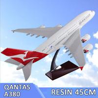 Qantas Airways Australia Airlines Airbus A380 Airplane 45cm DieCast Plane Model
