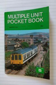 Platform 5 Multiple Unit Pocket Book 1980 No writing or underlining.