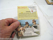 FRED ARBOGAST FISHING HINTS & POCKET CATALOG Foldout COLLECTOR USA made