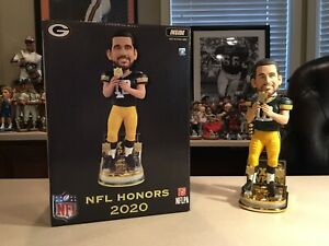Aaron Rodgers Green Bay Packers 3X MVP Bobblehead