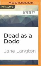 Homer Kelly: Dead As a Dodo 12 by Jane Langton (2016, MP3 CD, Unabridged)