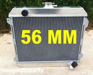 racing aluminum radiator For Nissan Datsun STANZA 510 610 710 720 L20B manual MT