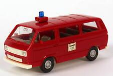 1:87 VW Volkswagen T3 Bus Feuerwehr, Haftetikett Feuerwehr, 112 - Wiking 603