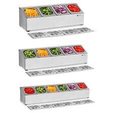 Espositore Gn Per Alimenti Con Contenitore Coperchio Gastronorm 4-6 Contenitori
