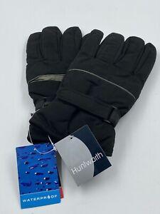 Huntworth Waterproof Winter Gloves W/Heat Pack Pocket Size L