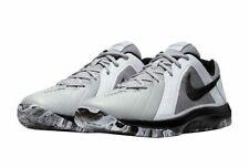 Nike Air Mavin Low Basketball Shoe 719924-005 Men's Size 9 Wolf Grey/Black-White
