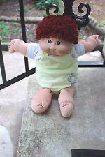 VINTAGE Cabbage Patch Boy (1982) BROWN HAIR