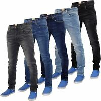 New Mens Designer Firetrap Stretchable Jeans Cotton Skinny Fit Denim Pants