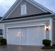 Lifestyle garage screen door 7'h x 16'w any color Super Screen privacy mesh