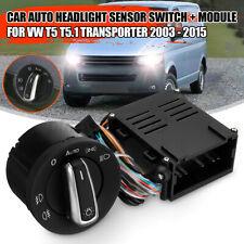 For VW T5 5.1 Transporter 03-2015 AUTO Headlight Fog Light Switch Module