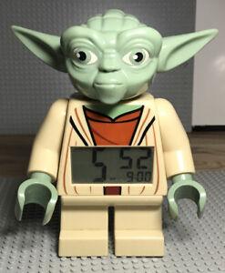 "7"" Lego Star Wars Yoda Alarm Clock - Battery operated"