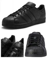 Adidas Originals Mens Trainers Superstar Leather Casual Shoes Sneakers Black