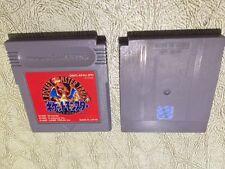 Pokemon Red Japanese Pocket Monsters Gameboy NEW BATTERY **USA SELLER**