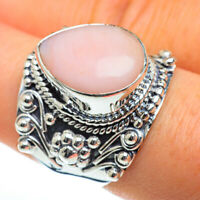 Pink Opal 925 Sterling Silver Ring Size 8.5 Ana Co Jewelry R46706F