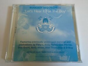 Lets Hear It For The Boy Cd Hard House NRG Fergie Andy Farley Lisa Pin Up RARE