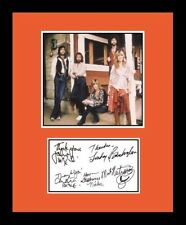 Fleetwood Mac *Signed x 5* Replica Photo Display *W-Stevie Nicks*