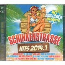 Schinkenstrasse Hits 2014.1 - Various - 2 CD - Neu / OVP