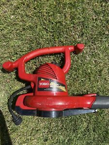 Toro 51599 Ultra Electric Blower Vac, Working Well, Red