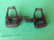 Wellgo Road Bike Pedals no cleats Cleats in great condition