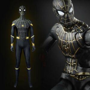 Spider-Man No Way Home Costume Peter Parker Cosplay Jumpsuit Halloween