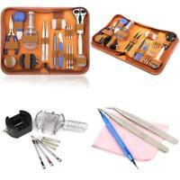 HS Uhrenwerkzeug Set 147Tlg Uhrmacherwerkzeug Uhr Werkzeug Tasche Reparatur Set