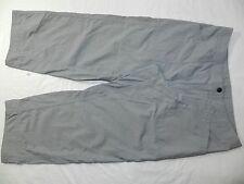 WOMENS gray PANTS = MOUNTAIN HARDWARE = SIZE 8
