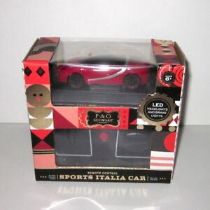 FAO Schwarz Sports Italia Car remote control car with lights NEW