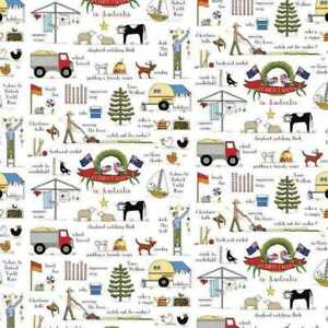 Christmas In Australia  Red Tractor Designs  By Rachael Flynn