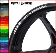 ROYAL ENFIELD Wheel Rim Stickers Decals - 20 Colors Available - interceptor 650