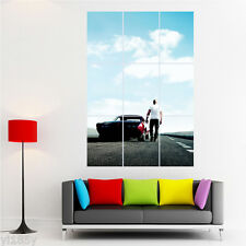 Fast and Furious & Paul Walker Poster Large Print Giant Wall Art Decor C2