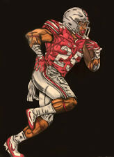Mike Weber Ohio State Painting signed