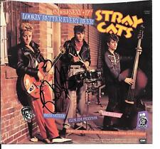 Stray Cats   signed / autographed 45 Picture sleeve She's Sexy 17 Brian Setzer