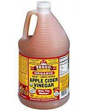 Bragg Organic Raw-Unfiltered Apple Cider Vinegar 128 fl.oz. (1 Gallon Jug)