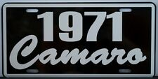1971 71 CAMARO LICENSE PLATE CHEVY CHEVROLET SS SUPER SPORT Z-28 302 350 396 427