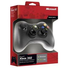 Oficial De Microsoft Xbox 360 Wireless Controller receptor Windows Inc Usb (Negro)