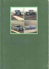 1972 Mercedes Benz 220 220D 250 & Coupe Sales Brochure mw7884-OKUMGA