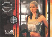 "Alias Season 1 - PW2 Jennifer Garner ""Sydney Bristow Outfit"" Costume Card"