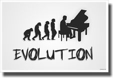 Piano Evolution - White - NEW Music POSTER