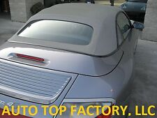 PORSCHE 911 (996, 997) CONVERTIBLE TOP OEM GERMAN A5 GRAPHITE GREY 2002-2010