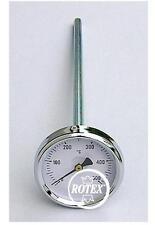 Pirometro termometro per forno gambo 150 mm acciaio inox Made in Italy - Rotex