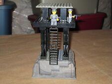 Lego 2 Custom Minifig WW2 Watch Tower Wehrmacht Machine Gun Crew Set