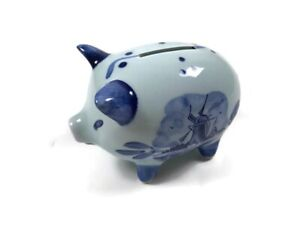 "Ceramic Piggy Coin Bank 5""x3"""