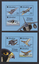Gibraltar 1999 Mint MNH Minisheet Wings of Prey RAF Planes Birds Raptors Falcons