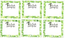 SUSAN Branch IVY BOOK Plate Scrapbook Stickers! 3 Sheets