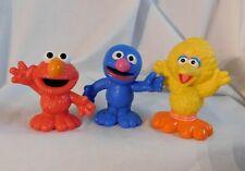 Sesame Street Figures: Elmo, Grover & Big Bird Playskool Lightweight Deluxe Set