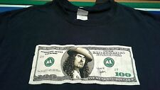 "Weird Al Yankovic ""Straight Outta Lynwood"" Hundred Dollar Bill T-Shirt Men's L"