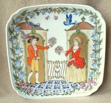 "CONTINENTAL GERMAN HUTSCHENREUTHER PORCELAIN WALL PLATE OLE WINTHER ""FRIENDSHIP"""