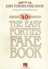 More Of The Easy '40S Fake Book Melody Lyrics & Simplified Chords (Eas-ExLibrary