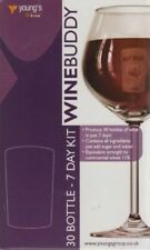 Wine Buddy Home Brewing Kit Make Your Own Wine Make 30 Bottle Cabernet Sauvignon