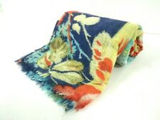 Auth EPICE YellowGreen Orange Multi Wool Scarf